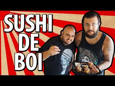 SUSHI DE BOI feat. BROGUI | COZINHA HARDCORE
