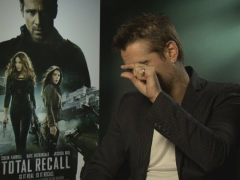 INTERVIDEO: Colin Farrell reveals what it was like to kiss Kate Beckinsale while her husband watched