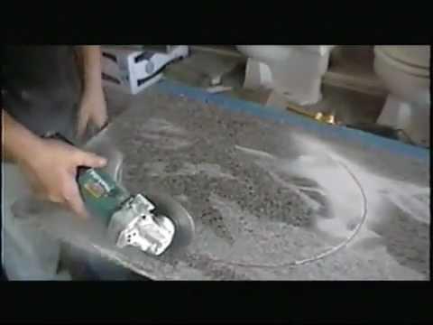 como cortar la piedra de granito youtube