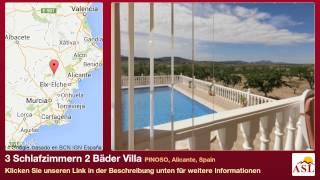 3 Schlafzimmern 2 Bäder Villa zu verkaufen in PINOSO, Alicante, Spain