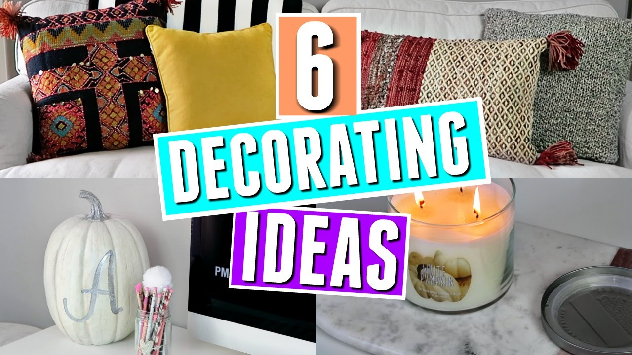 Decorating your