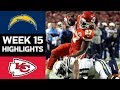Chargers vs. Chiefs | NFL Week 15 Game Highlights thumbnail