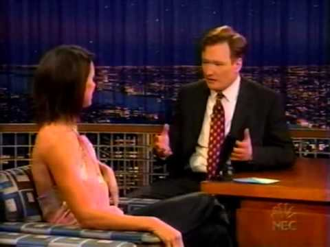 "Bridget Moynahan on ""Late Night with Conan O'Brien"" - 1/29/03"