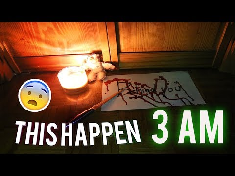 SCARIEST BREAKING ALL THE RULES TO THE GHOST PAPER RITUAL / GHOST PAPER CHALLENGE #1