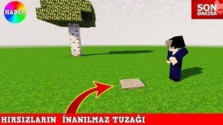 HIRSIZ VS POLİS #26 - Hırsızın İnanılmaz Tuzağı (Minecraft)