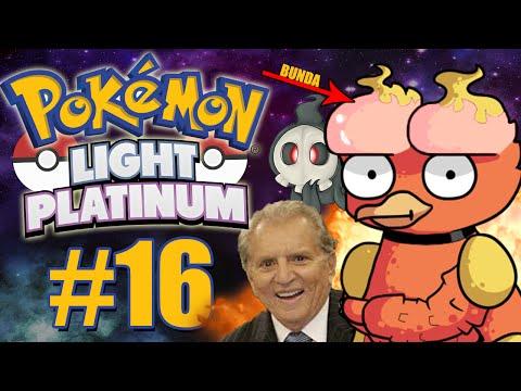 Pokémon Light Platinum #16 - TESTA DE NÁDEGA / EVOLUÇÃO!!