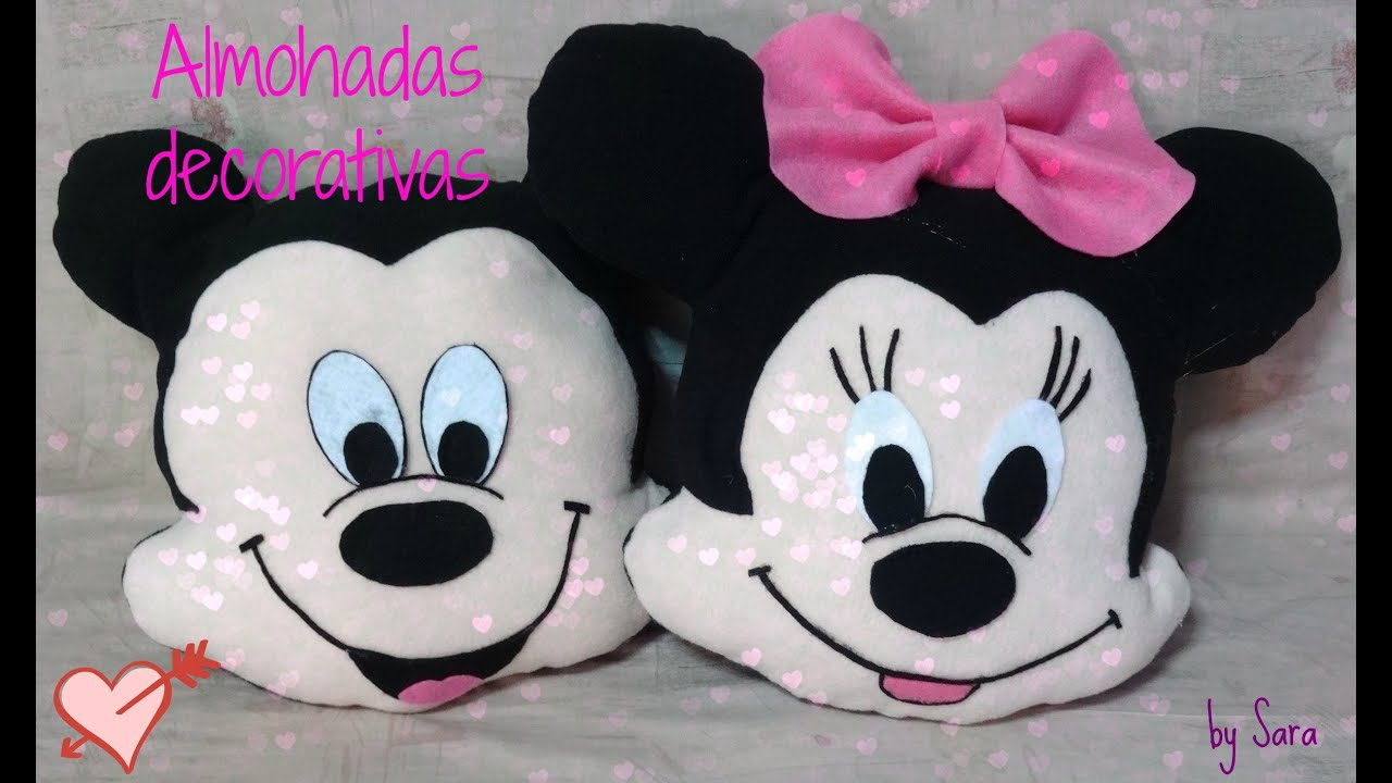 Almohadas decorativas youtube - Manualidades infantiles fieltro ...