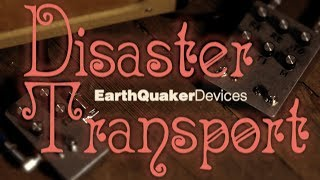 DIY EarthQuaker Devices Disaster Transport & Disaster Transport Jr. pedal kits