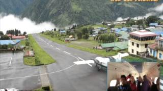 lukla take off