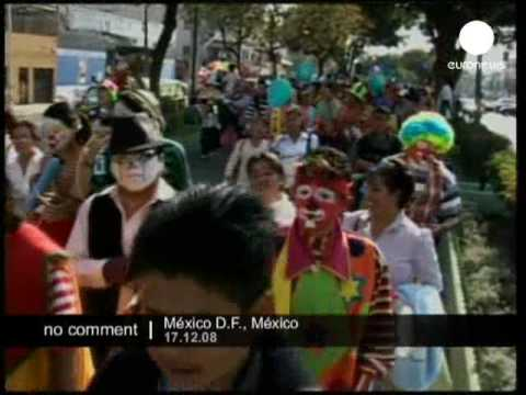 Mexico City Clown Parade