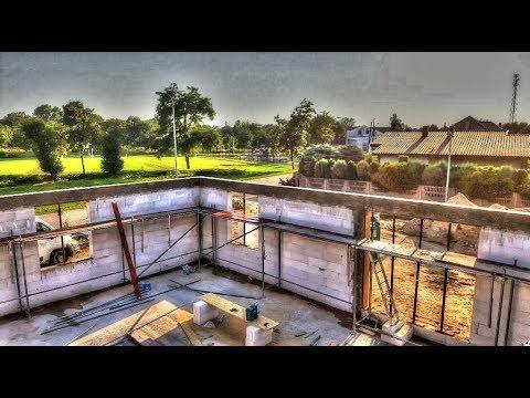 Daily Vlog # 25. Jak wybudować dom? Demontaż szalunków.  Budowa domu krok po kroku. Dzień 25. HD