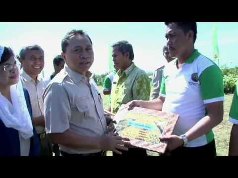 Sosialisasi Pembangunan Kehutanan Bersama Menhut, Kab Cianjur 5 maret 2014