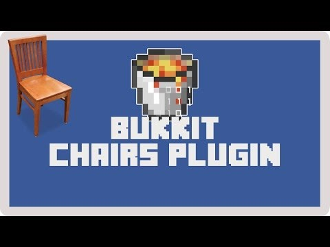 Bukkit: How to Install and Use the Chairs Plugin