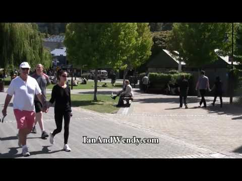 Queenstown Waterfront, New Zealand. In 1080P HD.