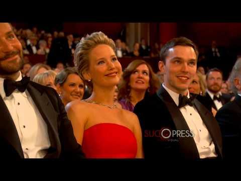 Ellen DeGeneres difunde caída de Jennifer Lawrence