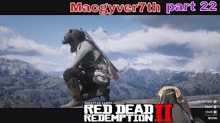 Red Dead Redemption 2 1.05 | Hunting For legendary animals part 22 #Ps4Pro #2019 #live4k