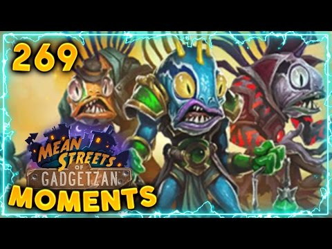 Devolve OP!! | Hearthstone Gadgetzan Daily Moments Ep. 269 (Funny and Lucky Moments)