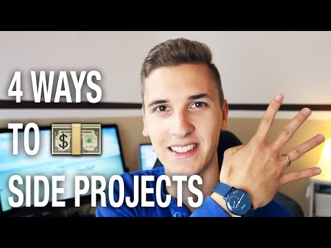 4 Ways To Monetize Your Side-Projects