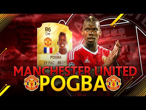 MANCHESTER UNITED POGBA - TRANSFFERED CARD ? FIFA 16 ULTIMATE TEAM