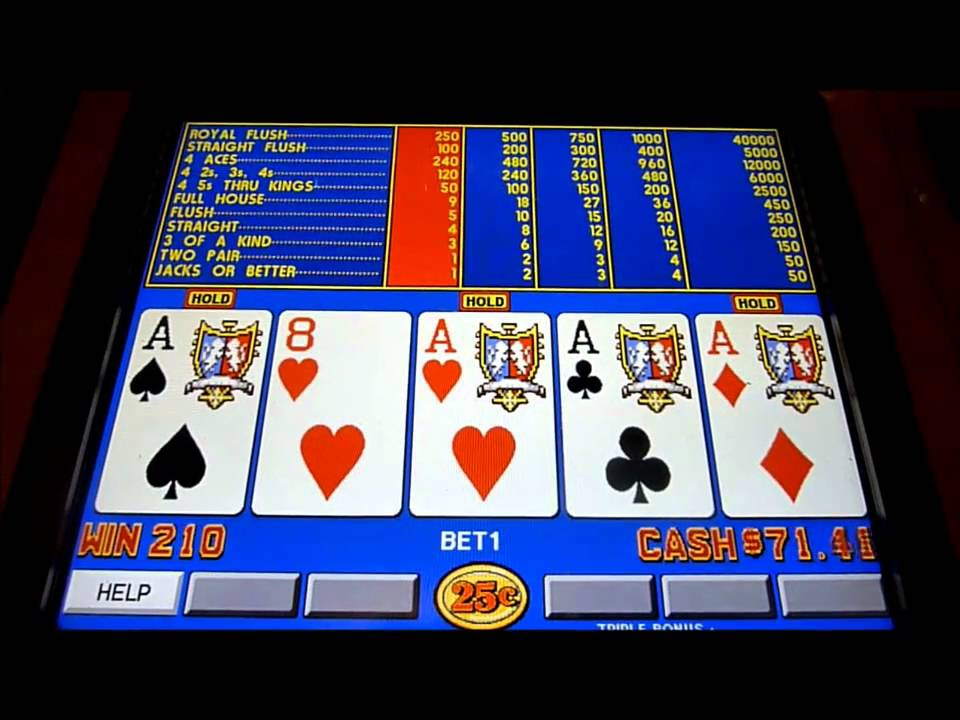gambling poker and slot machines essay Compare this to slot machines vpfree2 can help you find the good-paying machines video poker probabilities practice gambling with play money.