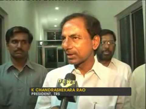 K Chandrasekhar Rao on Telangana crisis