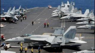 Navy Strike Group 'Carl Vinson' Is Headed Toward the Korean Peninsula