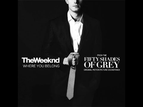 The Weeknd- Where You Belong Lyric Video (Fifty Shades of Grey)