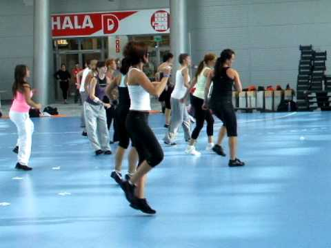 Dance With Me Magdalena Prieditis - Ifaa Fitness Day Kielce 2010 video