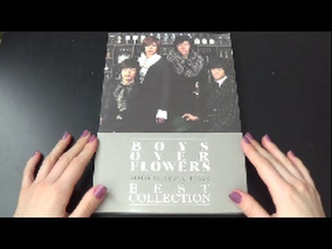 Unboxing Boys Over Flowers Original Sound Track Best Collection Korean Compilation Album video