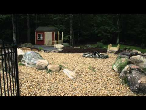 Landscaping project Bedford NH iMow Lawn Care Services Inc