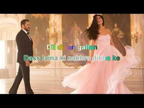 dil diyan gallan tiger zinda hai 2017 background music track full karaoke music without voice