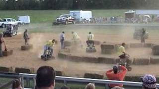Easy Rider Rodeo ~ 2009 ~ Bar Stool Race ~ Wilson,NC.