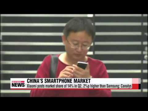 Samsung losing ground in smartphone market in China, India
