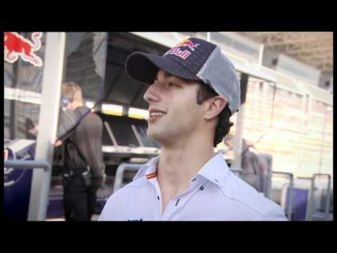 BBC F1 - HRT's Daniel Ricciardo interview at Korean GP