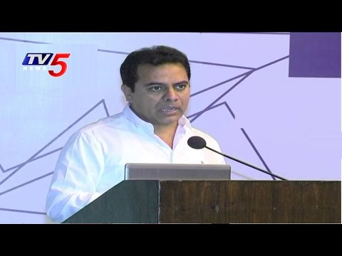 KTR Launched Animation And Gaming Centre In Madhapur | TV5 News