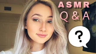 ASMR 25K TINGLY Q&A! (UP-CLOSE WHISPERS, SOFT SPEAKING)