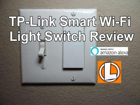 TP-Link Smart Wi-Fi Light Switch Review - Unboxing. Installation. Setup. Works With Amazon Alexa