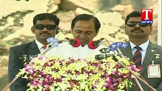 CM KCR Speech On Rythu Bandhu Scheme | Independence Day | Golconda  live Telugu