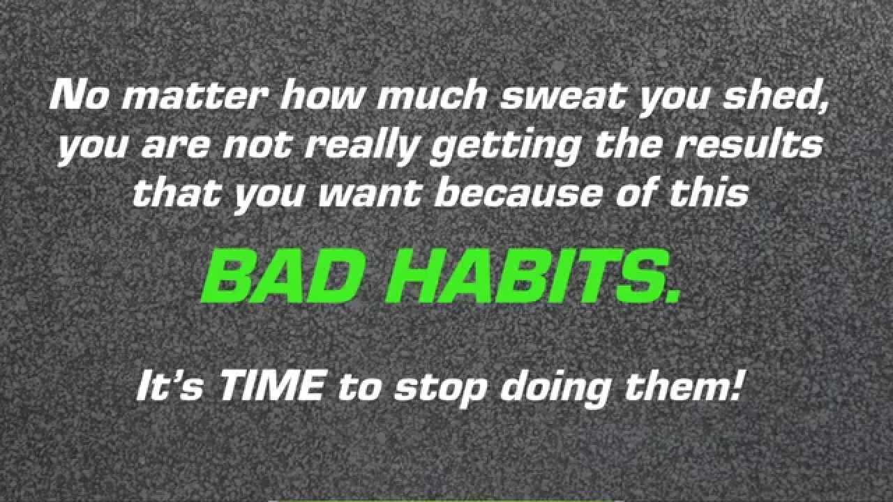 Bad Exercise Habits You Should
