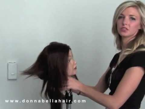 Tape In Hair Extensions Installing Tutorial