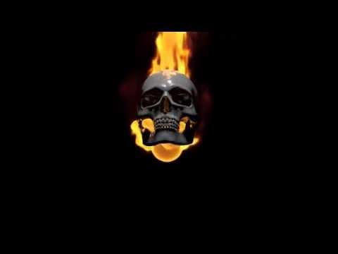 Burning Skull  (C4D r16 Animation) thumbnail