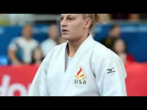 Kayla Harrison of USA wins womens 78K Olympic judo gold medal‎