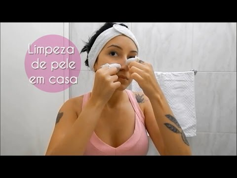 Limpeza de pele em casa (com extração)