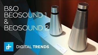 Bang & Olufsen BeoSound 1 and 2 Smart Speakers - Hands On at IFA 2018