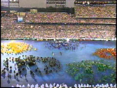 1996 Atlanta Olympic Opening Ceremony WXIA Part 2 of 8