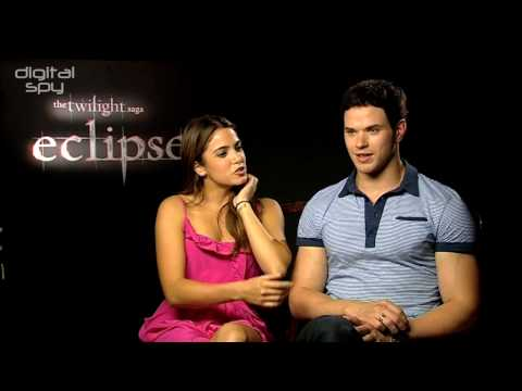 The Twilight Saga: Eclipse: Nikki Reed and Kellan Lutz