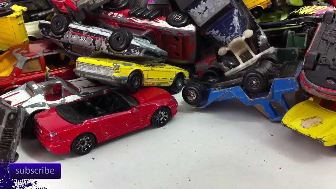 lot of really old matchbox cars youtube. Black Bedroom Furniture Sets. Home Design Ideas