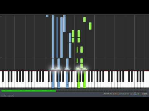 Call Me Maybe Piano (synthesia 120% Speed) Tutorial+midi video