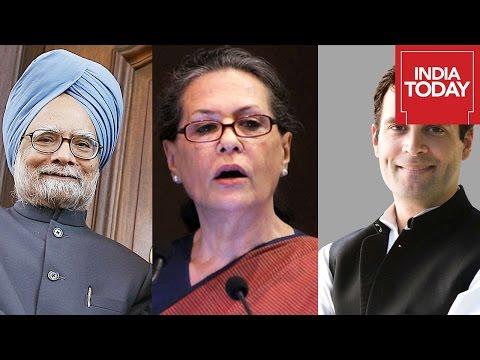 Rahul Gandhi, Manmohan Singh And Sonia Gandhi Speech At Delhi Rally