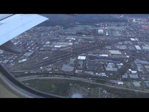 BA flight lands at Seattle Tacoma International Airport